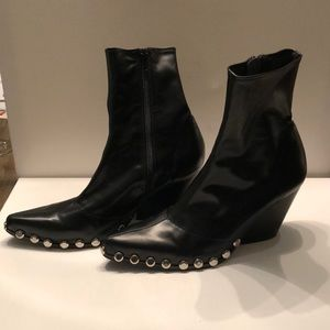 Jeffrey Campbell Shoes - Jeffrey Campbell studded inside zip ankle booties